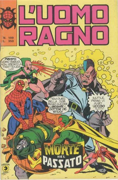Cover for L'Uomo Ragno [Collana Super-Eroi] (Editoriale Corno, 1970 series) #199