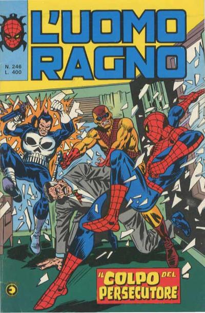 Cover for L'Uomo Ragno [Collana Super-Eroi] (Editoriale Corno, 1970 series) #246