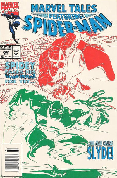 Cover for Marvel Tales (Marvel, 1966 series) #282
