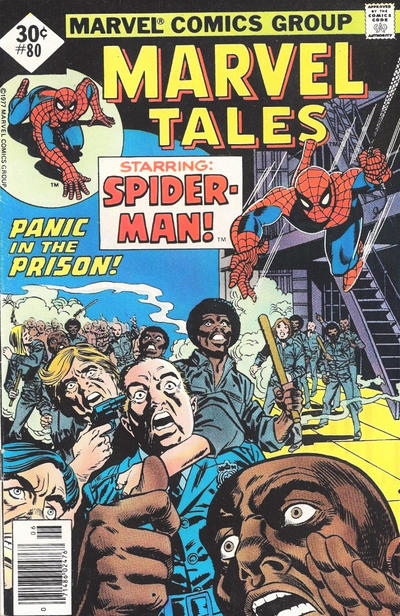 Cover for Marvel Tales (Marvel, 1966 series) #80 [30¢ Cover Price]