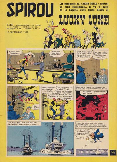 Cover for Spirou (Dupuis, 1947 series) #1117