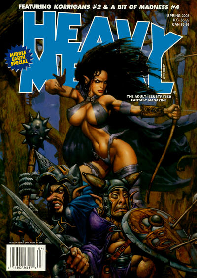 Cover for Heavy Metal Special Editions (Heavy Metal, 1981 series) #v19#1 - Middle Earth Special