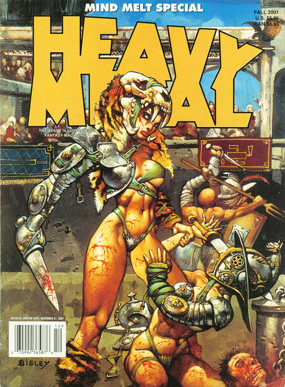 Cover for Heavy Metal Special Editions (Heavy Metal, 1981 series) #v15#3 - Mind Melt Special