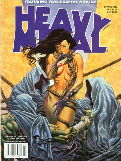 Cover for Heavy Metal Special Editions (Heavy Metal, 1981 series) #v16#1 - Diabolic Special