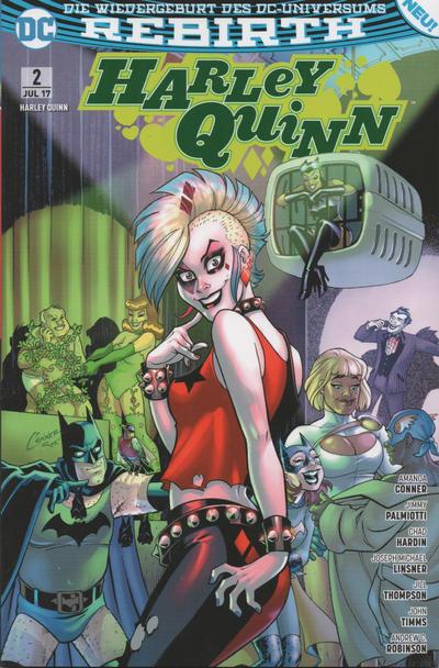 Cover for Harley Quinn (Panini Deutschland, 2017 series) #2 - Undercover-Punker