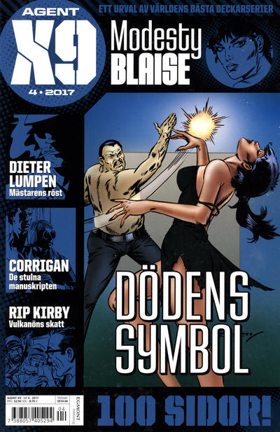 Cover for Agent X9 (Egmont, 1997 series) #4/2017