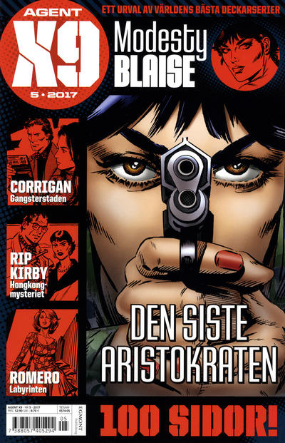 Cover for Agent X9 (Egmont, 1997 series) #5/2017