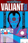 Cover for Valiant: 4001 A.D. FCBD Special (Valiant Entertainment, 2016 series)  [Hastings - John Coma]