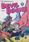 Cover for Devil Doone Adventure Comic (K. G. Murray, 1962 ? series) #37