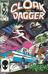 Cover for Cloak and Dagger (Marvel, 1985 series) #5 [Direct Edition]