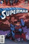 "Cover for Superman (DC, 2011 series) #32 [John Romita Jr. / Klaus Janson ""Crushed"" Cover]"