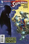 "Cover for Superman (DC, 2011 series) #34 [John Romita Jr. / Klaus Janson ""In Shadow"" Cover]"