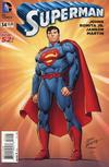 Cover for Superman (DC, 2011 series) #34 [John Romita / Klaus Janson Cover]
