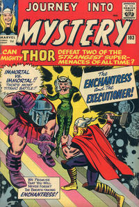 Cover Thumbnail for Journey into Mystery (Marvel, 1952 series) #103 [British]