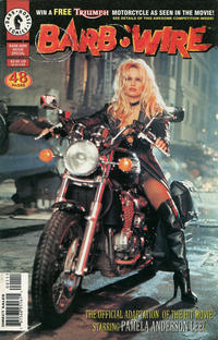 Cover Thumbnail for Barb Wire Movie Special (Dark Horse, 1996 series)  [Direct Sales]