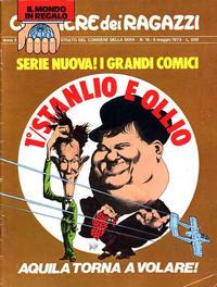 Cover Thumbnail for Corriere dei Ragazzi (Corriere della Sera, 1973 series) #18