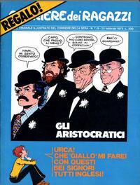 Cover Thumbnail for Corriere dei Ragazzi (Corriere della Sera, 1973 series) #7/8