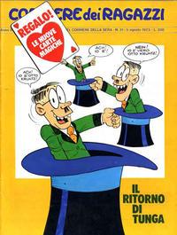 Cover Thumbnail for Corriere dei Ragazzi (Corriere della Sera, 1973 series) #31