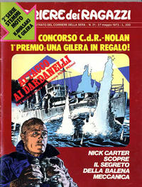 Cover Thumbnail for Corriere dei Ragazzi (Corriere della Sera, 1973 series) #21