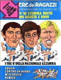 Cover Thumbnail for Corriere dei Ragazzi (Corriere della Sera, 1973 series) #24