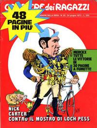 Cover Thumbnail for Corriere dei Ragazzi (Corriere della Sera, 1972 series) #v2#25