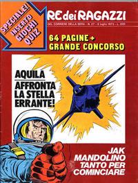 Cover Thumbnail for Corriere dei Ragazzi (Corriere della Sera, 1973 series) #27