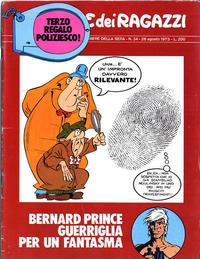 Cover Thumbnail for Corriere dei Ragazzi (Corriere della Sera, 1973 series) #34