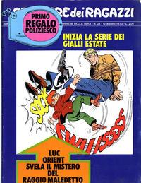 Cover Thumbnail for Corriere dei Ragazzi (Corriere della Sera, 1973 series) #32