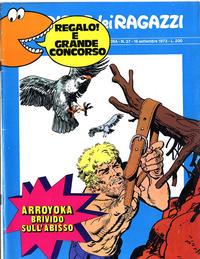 Cover Thumbnail for Corriere dei Ragazzi (Corriere della Sera, 1973 series) #37