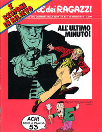 Cover Thumbnail for Corriere dei Ragazzi (Corriere della Sera, 1973 series) #43