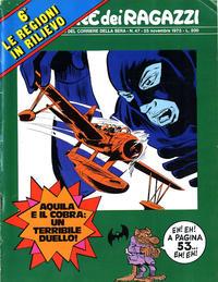 Cover Thumbnail for Corriere dei Ragazzi (Corriere della Sera, 1973 series) #47