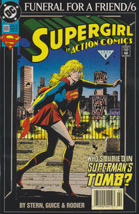 Cover Thumbnail for Action Comics (DC, 1938 series) #686 [Newsstand]