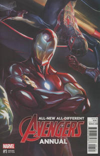 Cover Thumbnail for All-New All-Different Avengers Annual (Marvel, 2016 series) #1 [Alex Ross Connecting Cover Variant]
