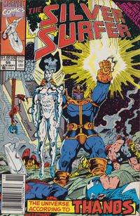 Cover Thumbnail for Silver Surfer (Marvel, 1987 series) #55 [Newsstand]