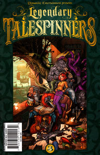 Cover Thumbnail for Legendary Talespinners (Dynamite Entertainment, 2010 series) #3