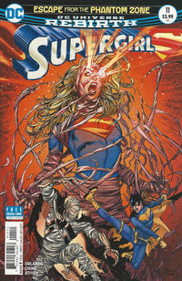 Cover Thumbnail for Supergirl (DC, 2016 series) #11