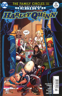 Cover Thumbnail for Harley Quinn (DC, 2016 series) #22 [Newsstand]