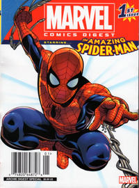 Cover Thumbnail for Marvel Comics Digest (Archie, 2017 series) #1 [Newsstand]