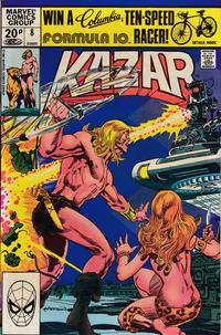 Cover Thumbnail for Ka-Zar the Savage (Marvel, 1981 series) #8 [Direct]