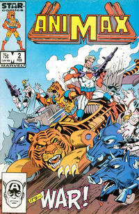 Cover Thumbnail for Animax (Marvel, 1986 series) #2 [Direct]