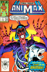 Cover Thumbnail for Animax (Marvel, 1986 series) #4 [Direct]