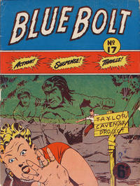 Cover Thumbnail for Blue Bolt (Gerald G. Swan, 1950 ? series) #17