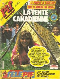 Cover Thumbnail for Le Nouveau Pif (Éditions Vaillant, 1982 series) #854