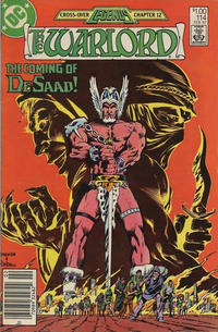Cover for Warlord (DC, 1976 series) #114 [Direct Sales]