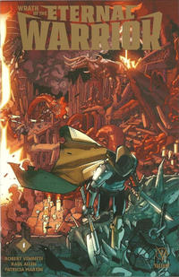 Cover Thumbnail for Wrath of the Eternal Warrior (Valiant Entertainment, 2015 series) #1 [Gold Logo Edition]