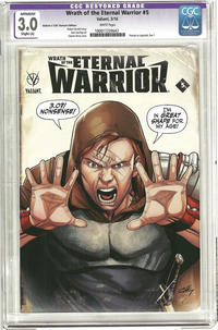 Cover Thumbnail for Wrath of the Eternal Warrior (Valiant Entertainment, 2015 series) #5 [Cover C - CGC Replica - Clayton Henry]