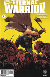 Cover Thumbnail for Wrath of the Eternal Warrior (Valiant Entertainment, 2015 series) #9 [Cover D - Steve Lieber and Ron Chan]