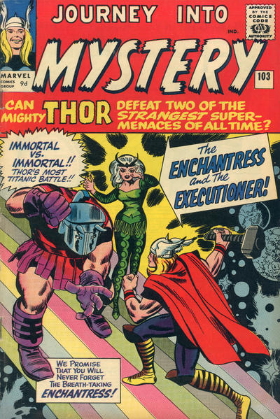 Cover for Journey into Mystery (Marvel, 1952 series) #103 [British]