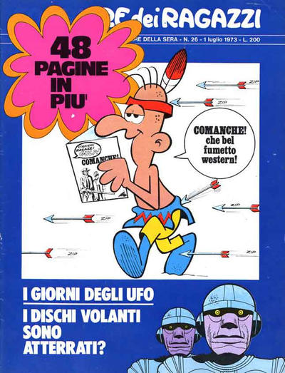 Cover for Corriere dei Ragazzi (Corriere della Sera, 1973 series) #26
