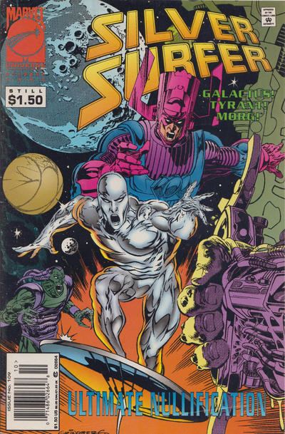 Cover for Silver Surfer (Marvel, 1987 series) #109 [Newsstand]